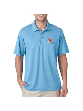 Team Cricket Polo Sky Blue